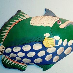 Metal Drum Fish pair from HATI